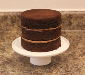 Торт Ромашковое поле. Как украсить домашний торт – мастер-класс-шаг 2