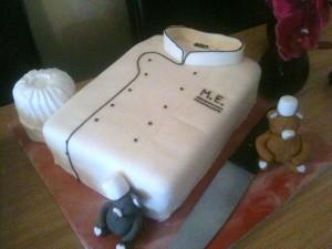 Оригинальный торт для Повара - идеи-шаг 2