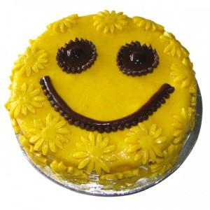 Торт Смайлик вызовет у всех улыбки!-шаг 1