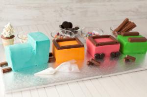 Торт Поезд – готовится легко, восхищает всех!-шаг 3
