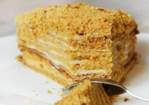 Медовый торт Парижская гармония – буквально тает во рту!