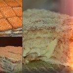 Торт трухлявый пень на кефире с вареньем