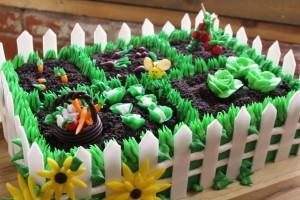 Оригинальный торт Огород – видео и мастер-класс