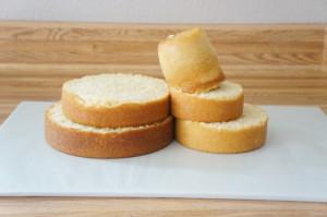 3D торт Олень – мастер-класс-шаг 3