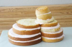 3D торт Олень – мастер-класс-шаг 5