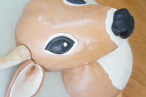 3D торт Олень – мастер-класс-шаг 15