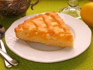 Песочный лимонный торт – ароматно и потрясающе вкусно!
