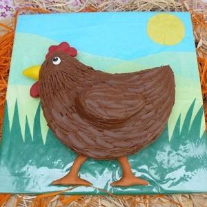 Новогодний торт Петух – как украсить