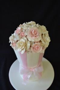 Торт Ваза – несколько замечательных идей-шаг 2