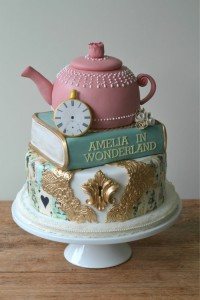 Как украсить детский торт – идеи-шаг 7