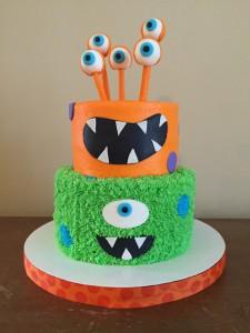 Как украсить детский торт – идеи-шаг 2