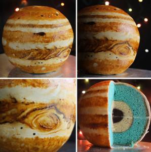 Невероятно красивый торт Планета! Видео-шаг 3