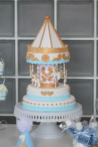 Детский торт Карусель – как украсить