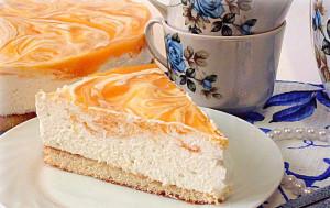 Бисквитный торт с творожно-сливочным кремом Счастье гурмана